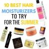 10 meilleurs hydratants cheveux pour essayer cet été