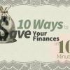 10 façons d'économiser vos finances en 10 minutes