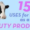 15 utilisations pour le lait comme un produit de beauté
