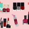25 jours de beauté: ongles Rouge Sets polonais