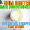 3 bricolage Beurre de Karité Shampooing Recettes pour les cheveux naturels