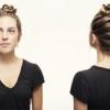 4 Chignons élégantes pour les cheveux longs