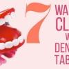 7 façons de nettoyer avec prothèses dentaires Comprimés