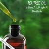 Utilisez l'huile d'arbre à thé pour effacer zits, boutons et points noirs