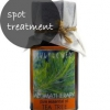 Traitement localisé acné - l'huile d'arbre à thé