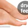 L'astuce beauté: naturel pieds broussailles sèches