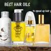 Meilleures huiles pour cheveux pour accélérer la croissance des cheveux