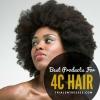 Meilleurs produits capillaires pour cheveux 4 type