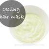 Refroidissement masque capillaire