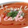 CSA Semaine 11: Une recette rafraîchissante Gazpacho