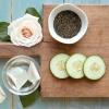 Concombre, thé vert et Rosewater Toner