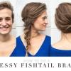 Tutorial Braid bricolage: Messy Fishtail