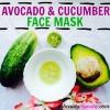 Refroidissement Avocat Concombre Masque bricolage