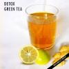 Le thé vert de désintoxication bricolage