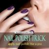 Perfect Nail truc polonais - applique le vernis à ongles comme un pro