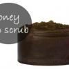 Bricolage miel naturel lèvre gommage