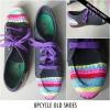 Upcycle bricolage vieilles chaussures ou des espadrilles
