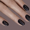 Géométrique automne Nail Art Vous pouvez vous faire