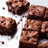 Sans Gluten menthe poivrée Recette Brownies