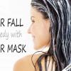 Chute des cheveux remède avec masques capillaires