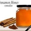 Remèdes maison en utilisant cannelle et de miel