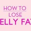 Comment faire pour perdre la graisse du ventre
