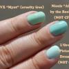 Mint Green Vernis à ongles Cruauté Dupes gratuites