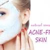 Les remèdes naturels pour la peau sans acné