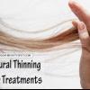 Traitements capillaires amincissement naturel