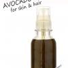 Nourrir et hydrater la peau et les cheveux avec de l'huile d'avocat