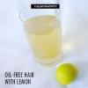 Pétrole - cheveux libres au citron