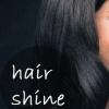 Petite astuce: briller les cheveux avec de l'huile