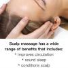 Avantages du cuir chevelu de massage et de traitement pour la croissance des cheveux