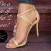 Sofia Z Vegan Shoe Giveaway valeur de 340 $!