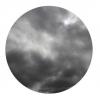Sun Dommages sur un jour nuageux
