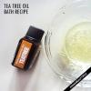 Arbre bain d'huile de thé - avantages et la recette