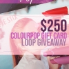 Super 250 ColourPop Instagram Giveaway $! De plus Rilastil Skincare Giveaway!