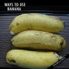 Façons surprenantes et uniques à utiliser la banane