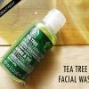 La peau de carrosserie d'arbre à thé de compensation examen de lavage du visage