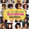 Top 20 Favorite Naturalistas sur Instagram