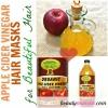 Top 3 ACV cheveux Masque Recettes | Apple Cider Vinegar pour cheveux