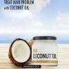 Traitez chaque problème de cheveux avec de l'huile de noix de coco