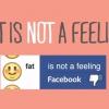 Mise à jour: Facebook a supprimé le «I Feel Fat '&' I Feel truand 'Options d'état