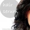 La vitamine e sérum de cheveux d'huile