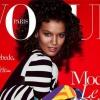 «Vogue Paris» a Modèle de couleur sur leur couverture pour la première fois en 5 ans