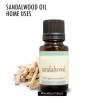 Façons d'utiliser l'huile de bois de santal dans votre maison quotidienne