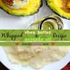 Recette fouettée beurre de karité huile d'avocat pour la peau et des cheveux