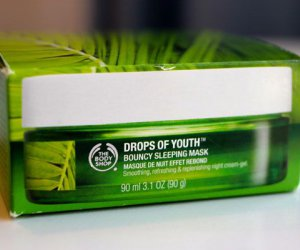 The Body Shop gouttes de jeunesse - Bouncy Masque de sommeil